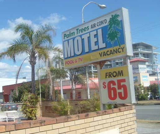 Palm Trees Motel - Accommodation Gold Coast