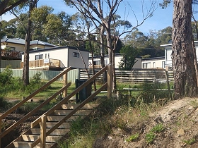 Coningham Beach Holiday Cabins - Accommodation Gold Coast