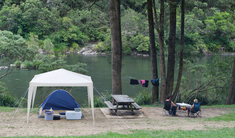 Platypus Flat campground - Accommodation Gold Coast