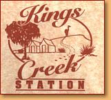Kings Creek Station - Accommodation Gold Coast