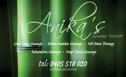 Anikas Massage Therapy - Accommodation Gold Coast