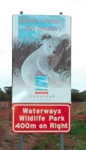 Waterways Wildlife Park - Accommodation Gold Coast
