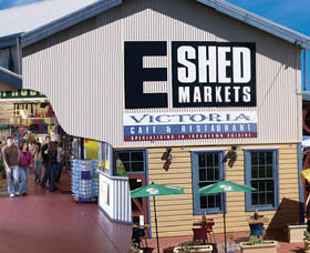 The E Shed Markets - Accommodation Gold Coast