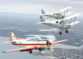 Vintage Tiger Moth Joy Flights - Accommodation Gold Coast