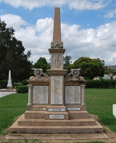 Boer War Memorial and Park - Accommodation Gold Coast