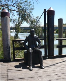 Captain John Egge Statue - Accommodation Gold Coast