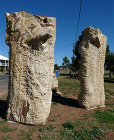 Fossilised Forrest Sculptures - Accommodation Gold Coast