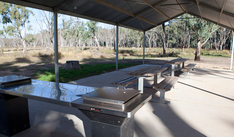 Yanga Woolshed picnic area - Accommodation Gold Coast