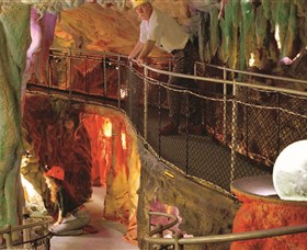 The Crystal Caves - Accommodation Gold Coast