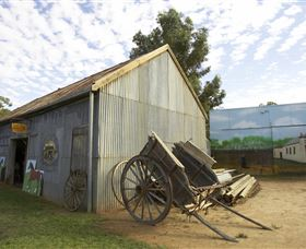 The Ned Kelly Blacksmith Shop - Accommodation Gold Coast