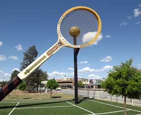 Barellans Big Tennis Racquet - Accommodation Gold Coast
