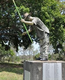 Cane Cutter Memorial - Accommodation Gold Coast