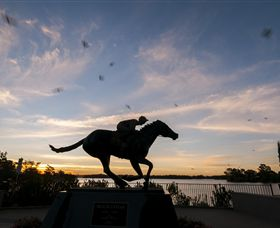 Black Caviar Statue - Accommodation Gold Coast