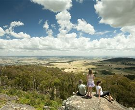 Mt Wombat lookout - Accommodation Gold Coast