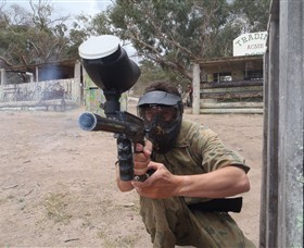 Hot Shots Paintball Skirmish - Accommodation Gold Coast