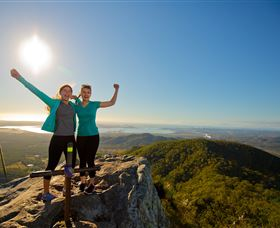 Mount Larcom Climb - Accommodation Gold Coast