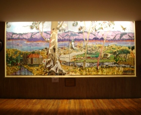 Adaminaby Memorial Hall Stage Curtain - Accommodation Gold Coast