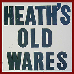 Heaths Old Wares Collectables  Industrial Antiques - Accommodation Gold Coast