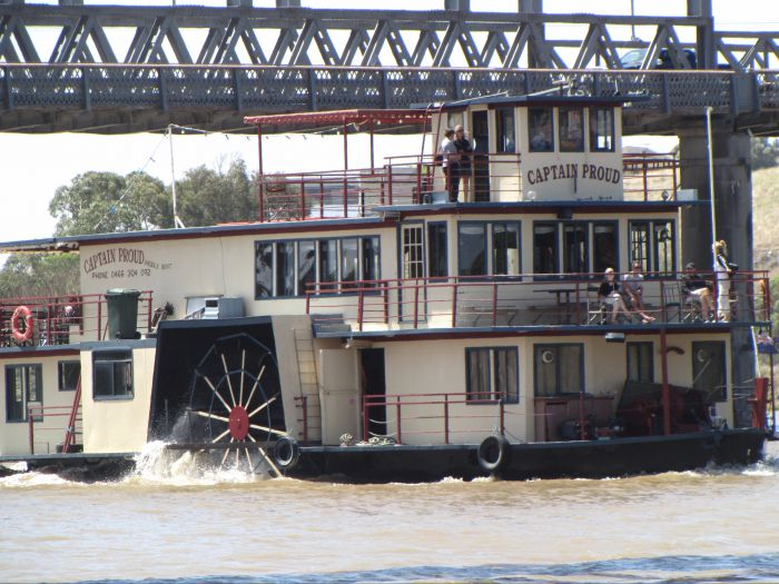 Captain Proud Paddleboat Cruises - Accommodation Gold Coast