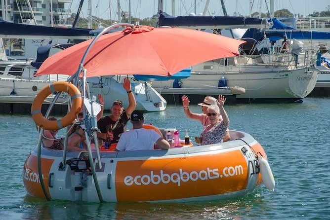 Self-Drive BBQ Boat Hire Mandurah - Group of 7 - 10 people - Accommodation Gold Coast