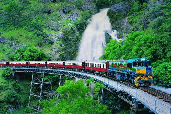 Full-Day Tour with Kuranda Scenic Railway Skyrail Rainforest Cableway and Hartley's Crocodile Adventures from Cairns - Accommodation Gold Coast