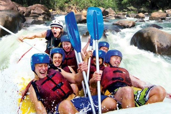 Tully River Full-Day White Water Rafting from Cairns including Lunch - Accommodation Gold Coast