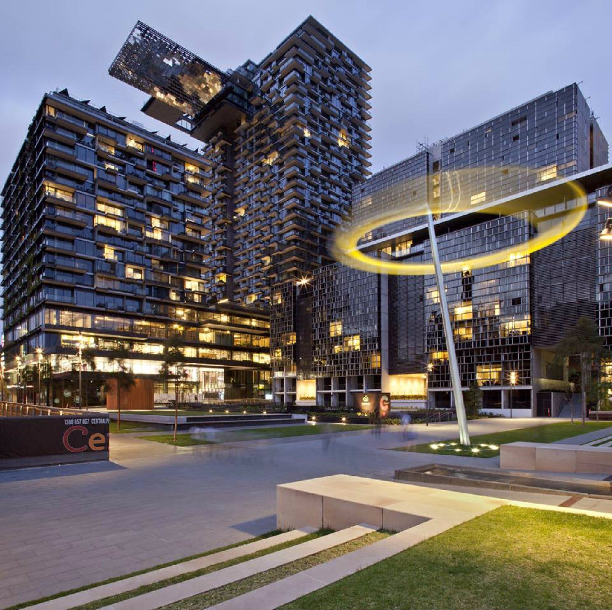 Central Park - Accommodation Gold Coast