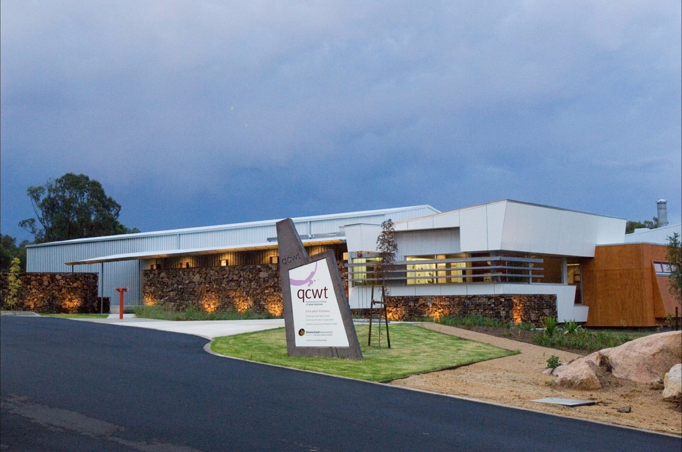 Varias Restaurant and Function Centre at the Queensland College of Wine Tourism - Accommodation Gold Coast