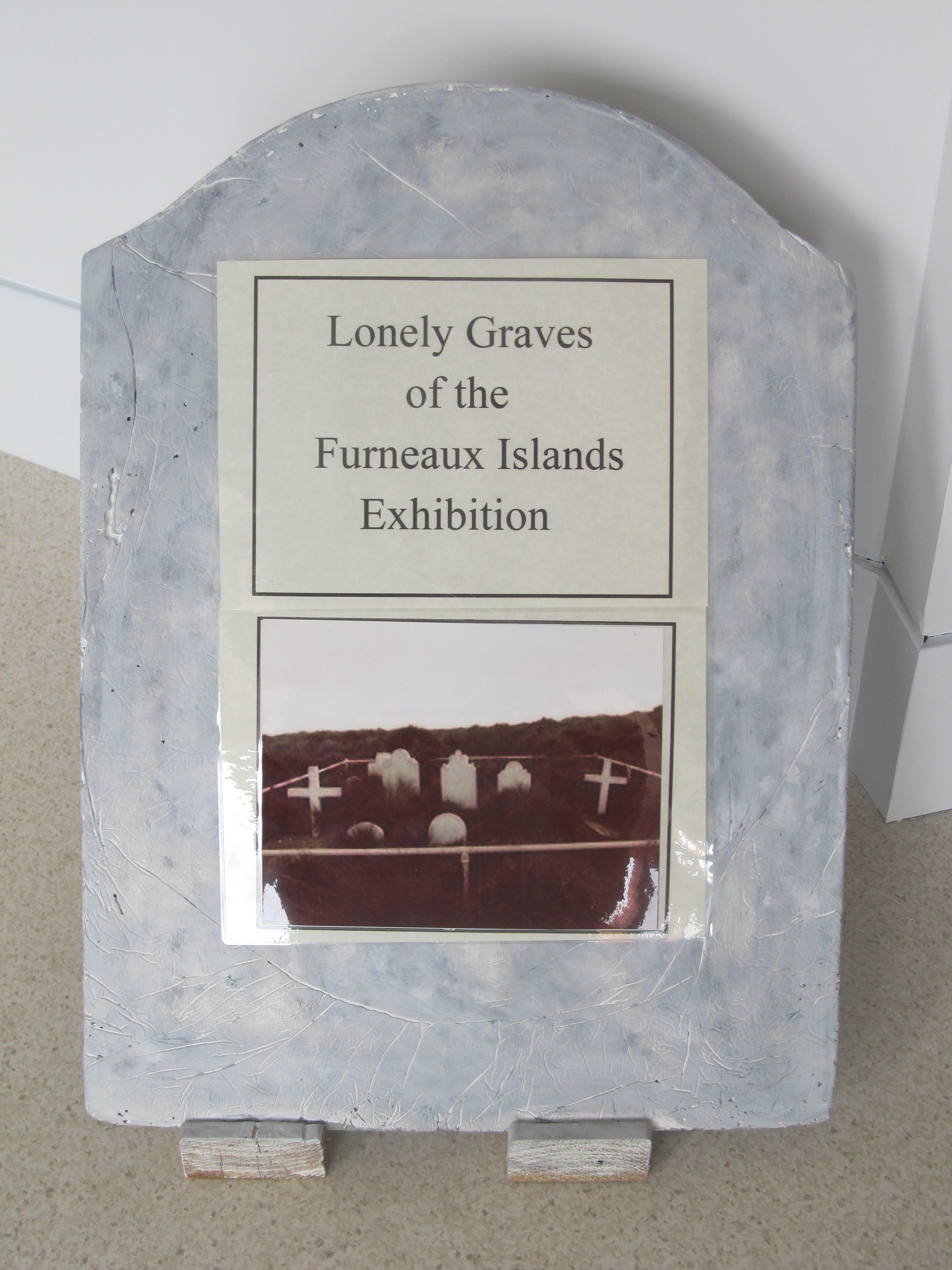Lonely Graves of the Furneaux Islands Exhibition - Accommodation Gold Coast