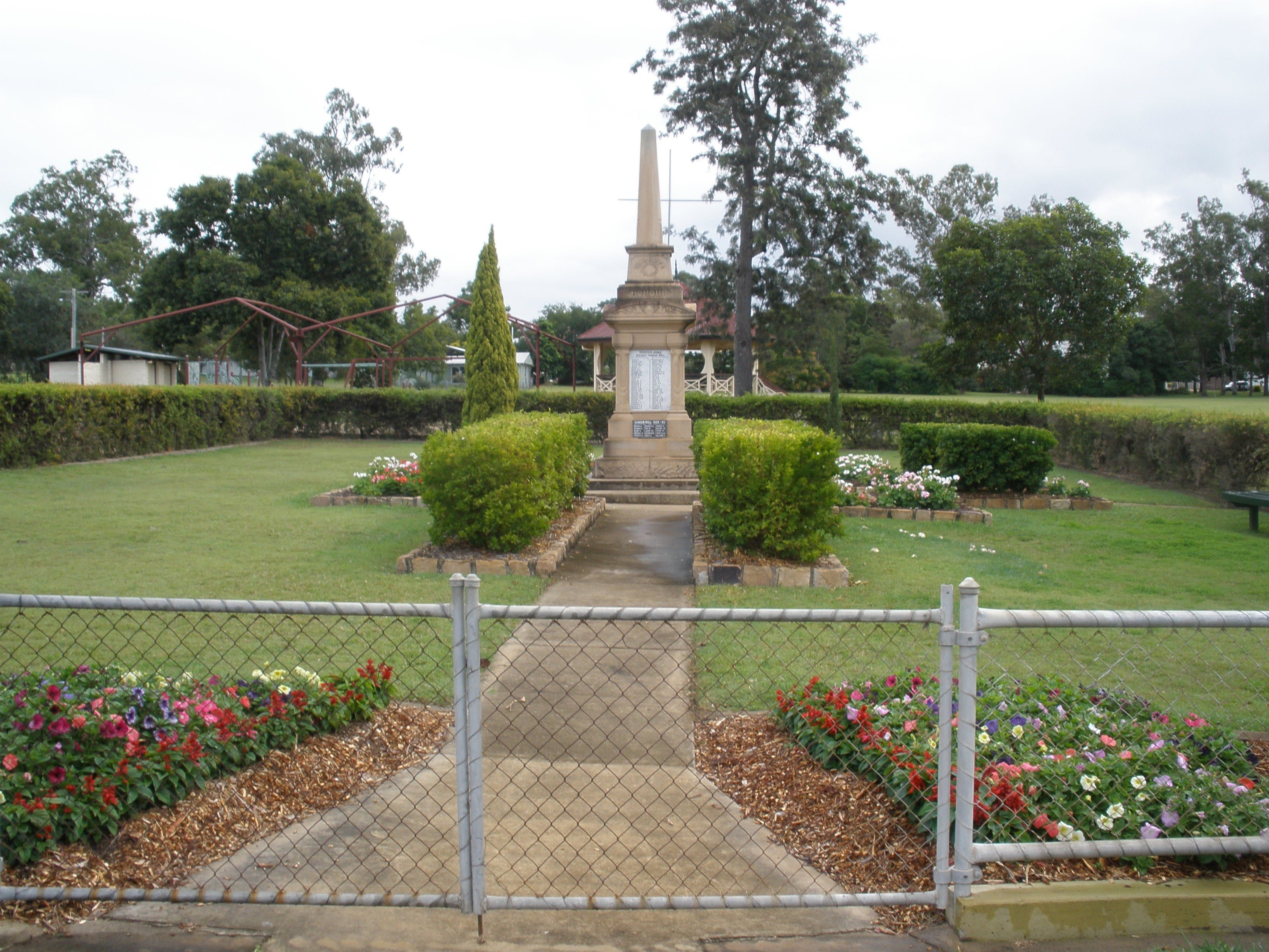 McConnell Park and Toogoolawah War Memorial - Accommodation Gold Coast