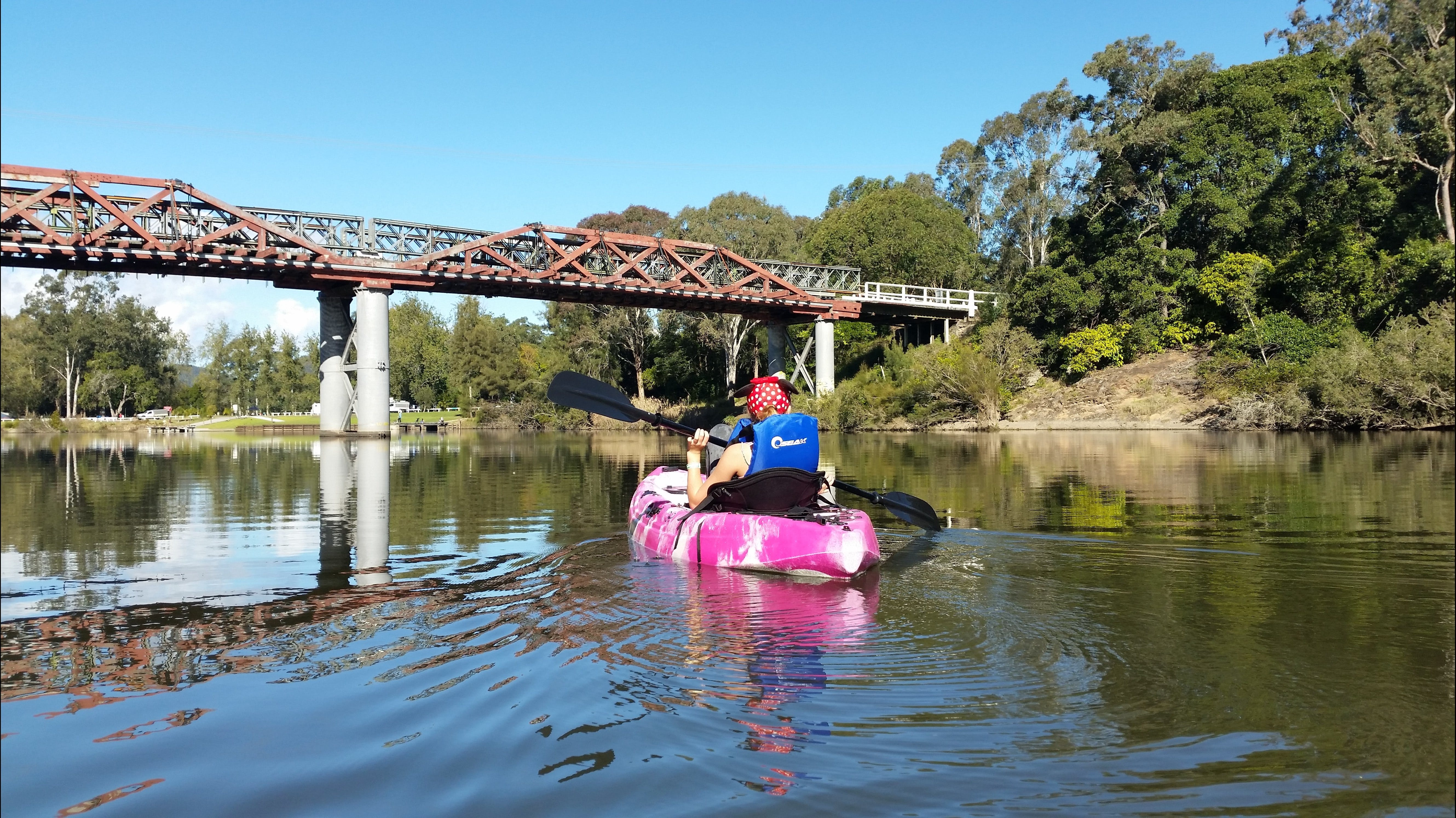 Canoeing at Clarence Town - Accommodation Gold Coast