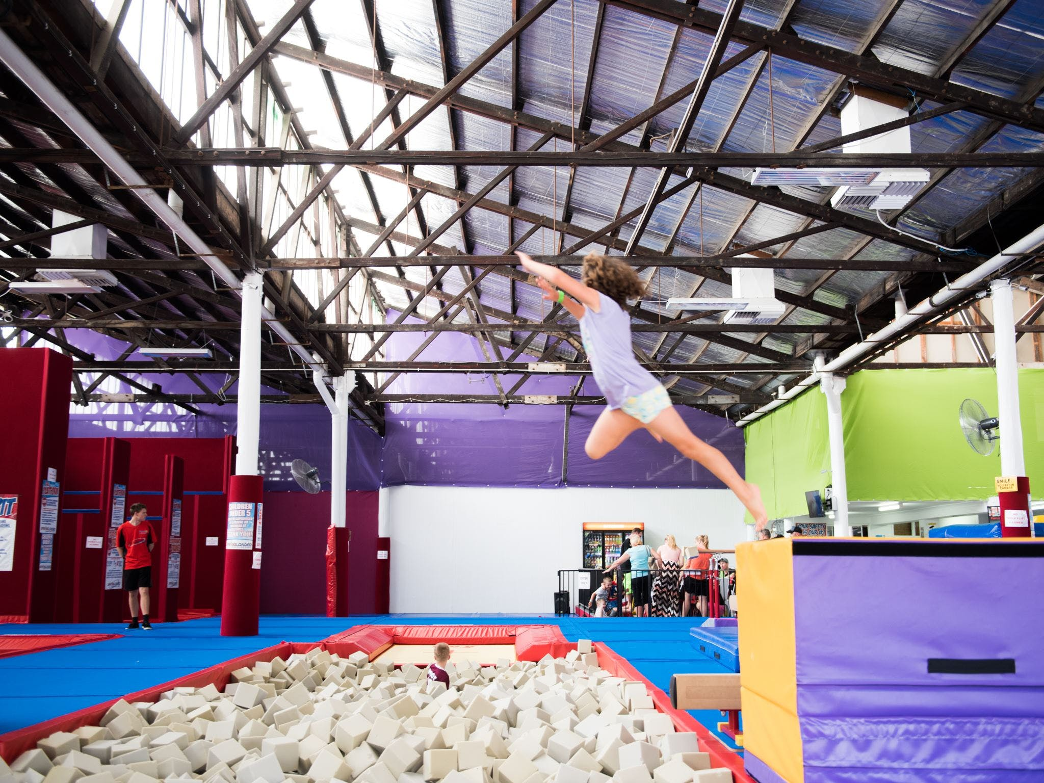 Springloaded Trampoline - Accommodation Gold Coast