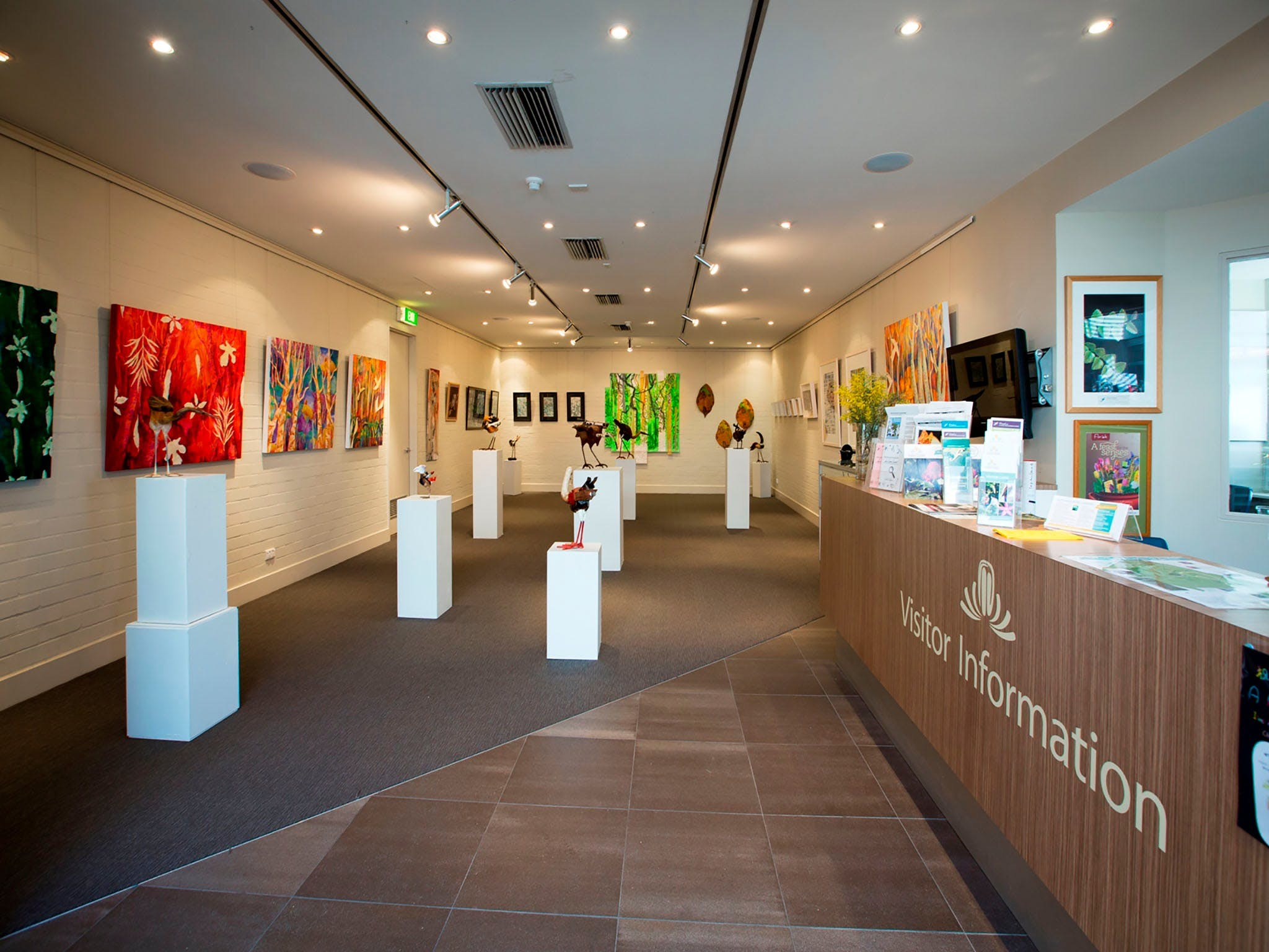 Australian National Botanic Gardens Visitor Centre Gallery - Accommodation Gold Coast