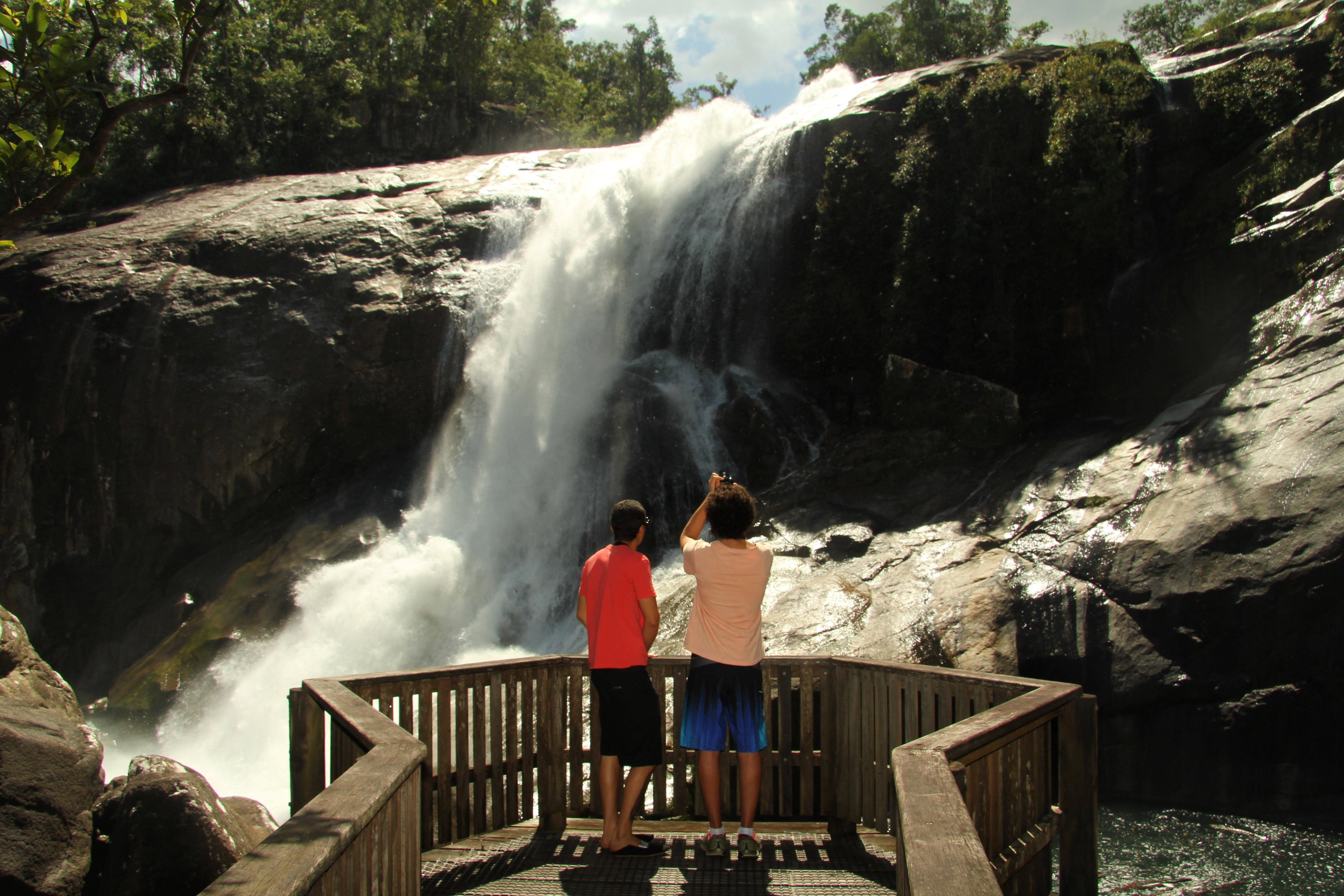 Murray Falls Girramay National Park - Accommodation Gold Coast