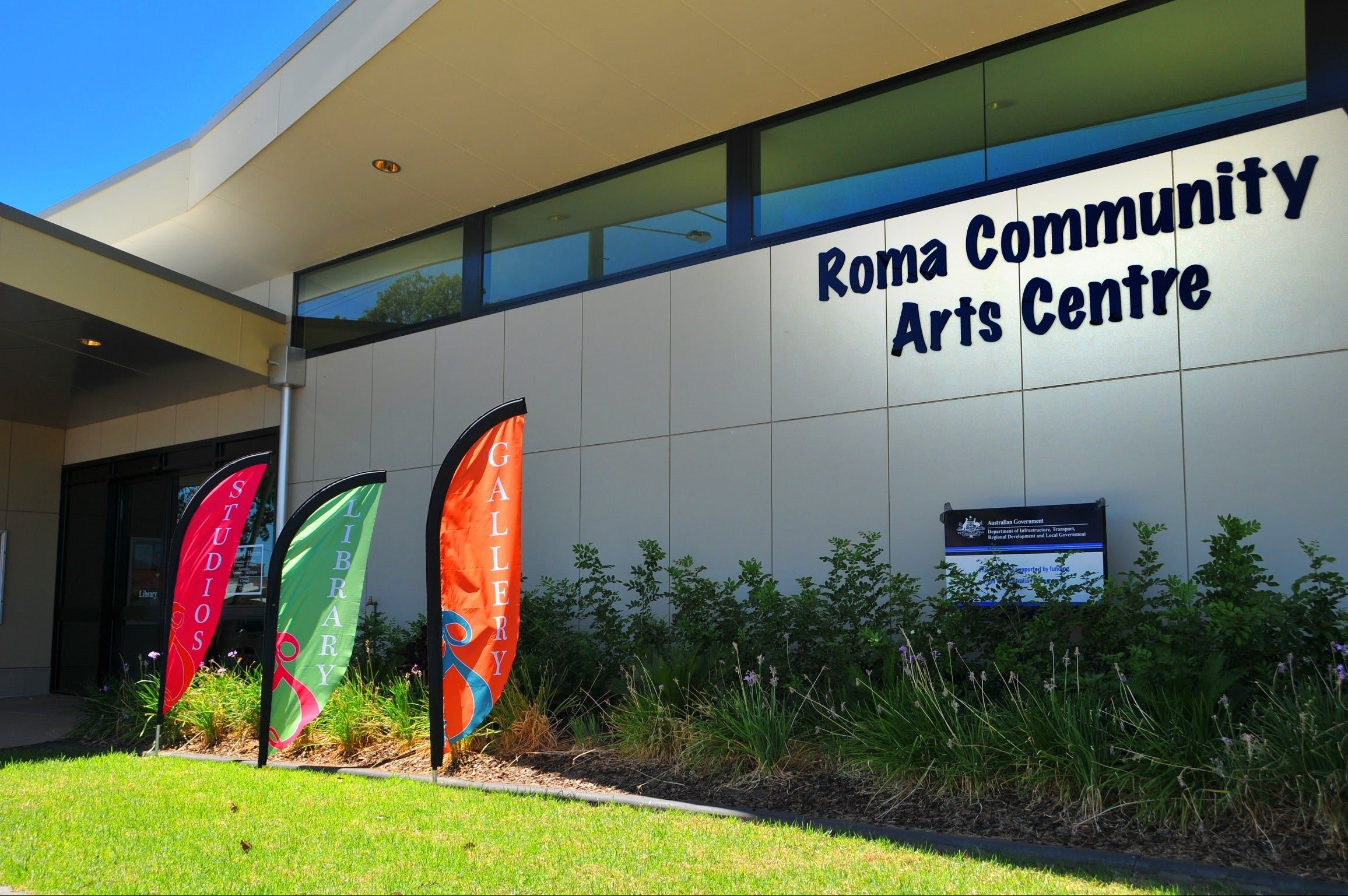 Roma on Bungil Art Gallery and the Walk of Art - Accommodation Gold Coast