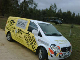 Splat Attack Paintball  Laser Tag Games - Accommodation Gold Coast