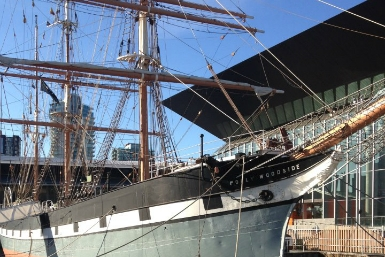 Polly Woodside - Melbourne's Tall Ship Story - Accommodation Gold Coast